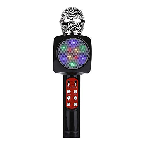 ELK Bluetooth Karaoke Microphone, Handheld Wireless Karaoke Player Compatible with Iphone Android Smartphone for Home KTV/Outdoor Party/Music Playing/Kids Singing,B