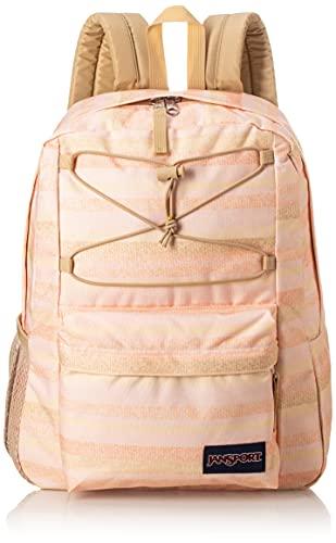 Jansport Flex Pack - School, Work, Travel, or Laptop Backpack with Mesh Water Bottle Pocket, Sunny Stripe
