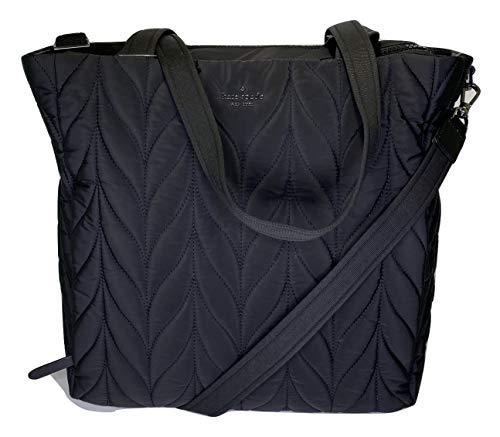Kate Spade New York Ellie Baby Bag Quilted Nylon (Black)