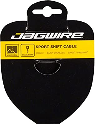 Jagwire - Sport Slick Galvanized Universal Bicycle Shifter Cable | for Road, Hybrid, Mountain, Cruiser Bike | SRAM and Shimano Compatible | 3100 mm