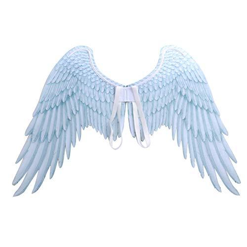 Tela no tejida Alas de ángel 3D Fiesta temática de Halloween Cosplay Accesorios para adultos Hombres Mujeres 75 x 105 cm por Iswell