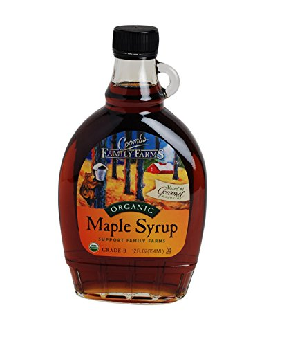 Coomb#039s Maple Syrup Og Gr B Glass 12Ounce