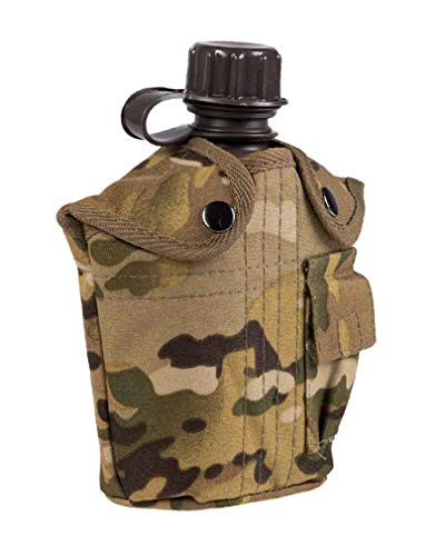 Mil-Tec Multitarn® KST.Imp. - Cantimplora (1 L), diseño de camuflaje