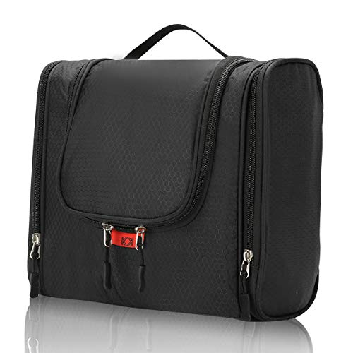 KK Toiletry Bag for Men and Women Wash Bag Travel Make up Cosmetic Bag...
