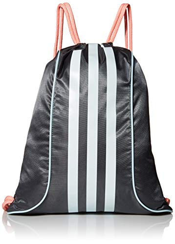 adidas Originals Burst II Sackpack Burst II Sackpack, Unisex-Erwachsene, Burst II Sackpack, Graue Six/ Glory Pink / Sky Tönung Blau, Einheitsgröße