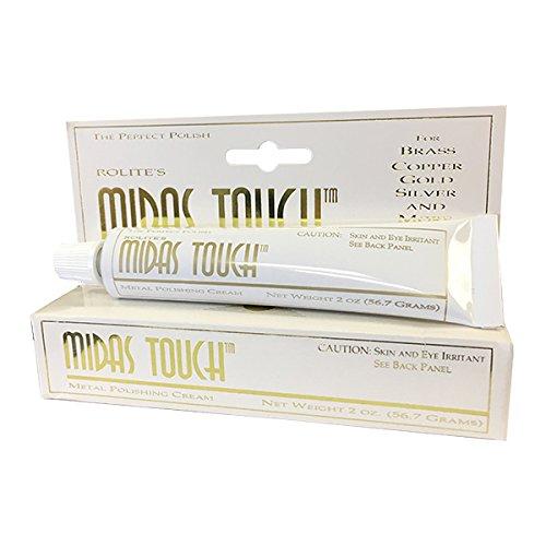 Rolite's Midas Touch Jewelry and Silver Polish MTMPC2z Metal Polishing Cream