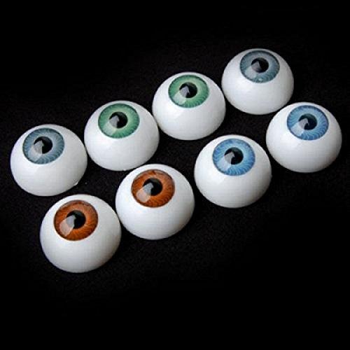 TOYMYTOY Augapfel, Halloween Eyeball Horror Requisiten Kostüm Plastik Augapfel, 8 Stk