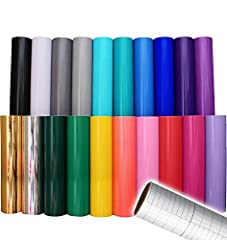 Industrial high-grade vinyl formulated for sticking to Metals, wood, glass and plastics. Colors included are: Brilliant Blue, Yellow, Red, Gray, Green, Purple, Pink, Gold Metallic, White & Black! Features permanent, solvent-based adhesive for indoor,...
