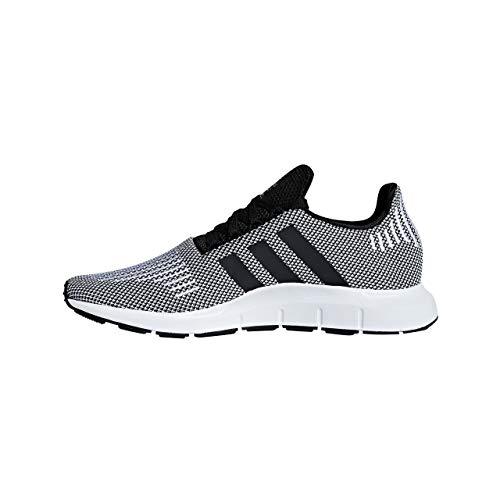 Adidas Swift Run - CBLACK/CBLACK/FTWWHT, Größe:8