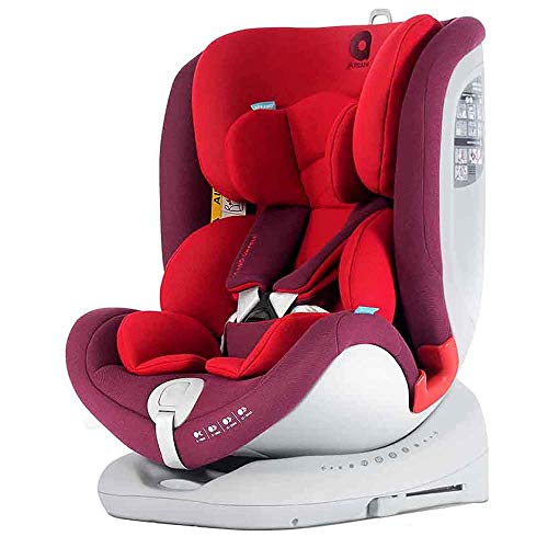 Apramo All Stage Kinderautositz Gruppe 0/1/2/3, Rot (Chilli Red)