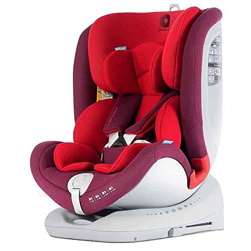 apramo All Stage, chaises de Auto enfant, groupes 0/1/2/3, rouge (Chilli réseau)