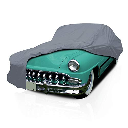 Car Cover for DeSoto Fireflite 1958 1959 Station Wagon 4-Door 5 Layer Full Coverage Semi Custom Fit Dust UV Protection w/Adjustable Buckle Straps Breathable Guard