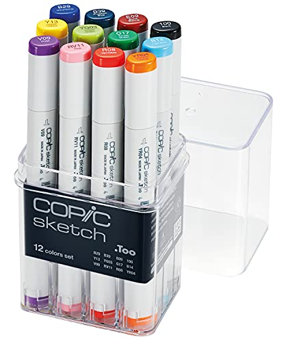 COPIC MARKER Sketch Marker Set