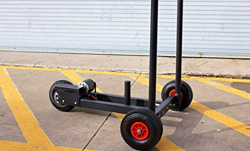 XPO Trainer Push Sled   BEST Indoor-Outdoor Workout Sled for Speed Agility Training, Resistance and Strength Training, CrossFit, Football, Conditioning, Rehab   Power Sled for Elite Athletes