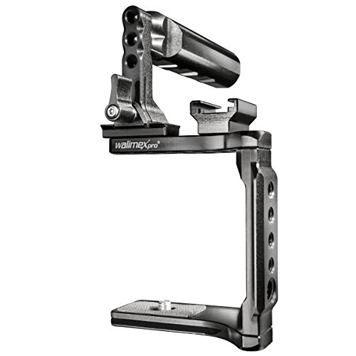 Walimex Pro 19738 Aptaris Universal Cage for Compact Mirrorless Cameras Like Canon EOS (Black)