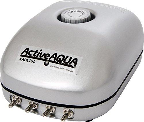 Active Aqua AAPA15L, 6W, 15 L/min Air Pump