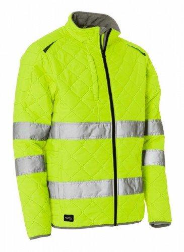 ELKA Thermo Jacke, Warnschutzjacke Warn-Steppjacke EN ISO 20471 gelb M