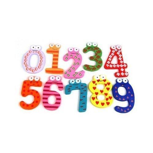 NiceButy Funky divertido colorido magnético números