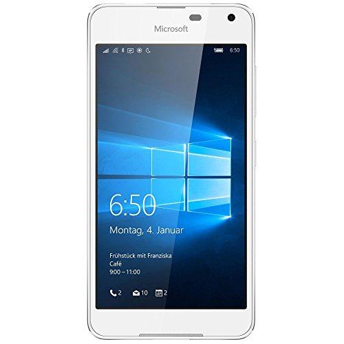 Microsoft Lumia 650 Smartphone (5 Zoll (12,7 cm) Touch-Bildschirm, 16 GB Speicher, Windows 10) weiß