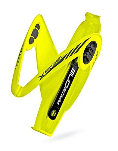 Portabidon Amarillo RACEONE X5 Gel Fibra de Bicicleta + Accesorios MTB BTT...