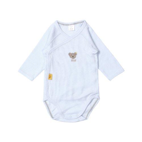 Steiff Unisex - Baby Body 0008663, Blau (Steiff baby blue|blue 3023), 50