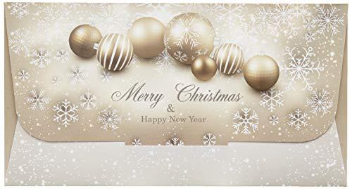 Susy Card 11427747 Geschenkumschlag Weihnachten Merry Christmas und Happy New Year