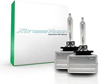 XtremeVision HID Xenon Replacement Bulbs - D3S / D3R / D3C - 4300K Daylight (1 Pair) - 2 Year Warranty