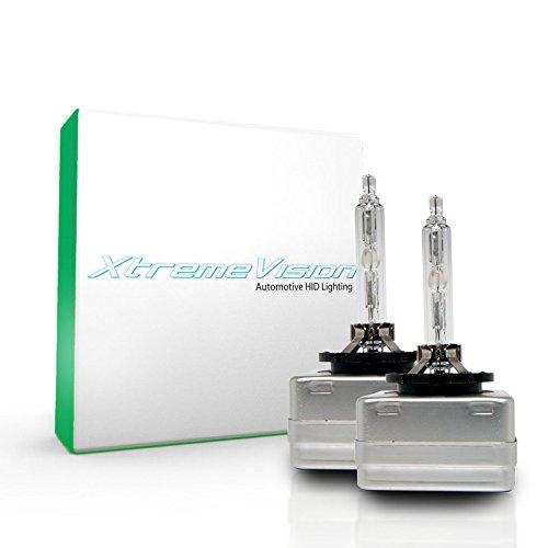 XtremeVision HID Xenon Replacement Bulbs - D3S / D3R / D3C - 10000K Dark Blue (1 Pair) - 2 Year Warranty