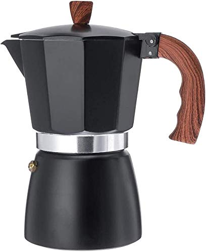 Find Discount Aluminum Espresso Maker 6 Cup/300ml Easy to Use Italian Type Moka Pot for Home Office ...