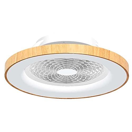 Mantra Iluminación. Modelo TIBET. Ventilador y plafón de techo de 65 cm de diámetro en color madera y blanco. Fuente de luz LED 70W 2700K-5000K 3900lm. Ventilador 35W