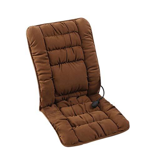 N/W Sitzkissen Beheizbar Sitzauflage Schnellheiz Sitzheizung Aufwärmmatte Lendenkissen für Office Home 43x90 cm