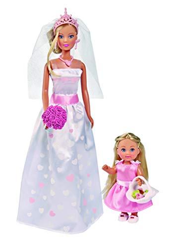 barbie sposa Simba- Steffi Love Wedding Day Set Bambole