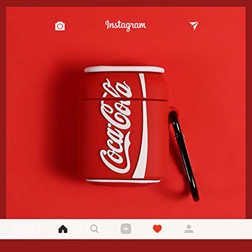 Custodia protettiva in silicone per cuffie Airpods1,2 per iPhone AirPods Coca-Cola