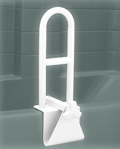 NOVA Bathtub Safety Rail, Tub Grab bar for Bathroom, Clamps to Side of Bathtub Safety Rail