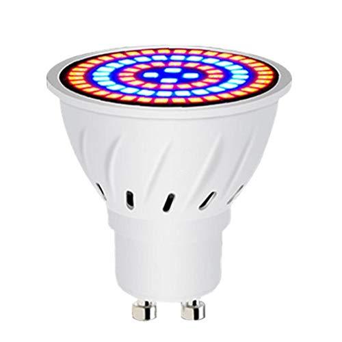MICHAELA BLAKE Wachsen LED-Glühbirne Pflanzenwachstum Lampe 80-LED-Betriebswachstum Birne LED-Licht Full Spectrum GU107