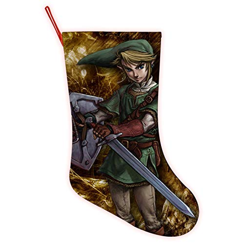 VROLLM The Le-ge-nd of Ze-lda Christmas Sock Christmas Stocking Christmas Decorations Gift