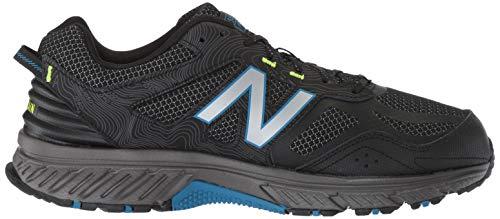 New Balance Men's 510v4 Cushioning Trail Running Shoe, Magnet/Black/Reflective, 11.5 4E US