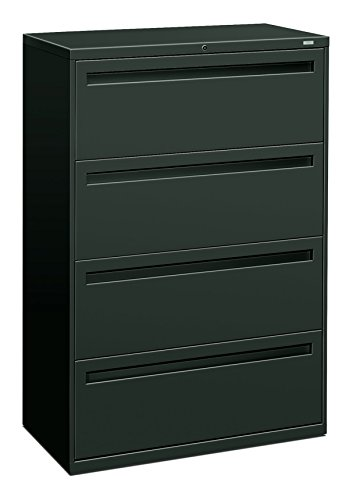 Big Sale Best Cheap Deals HON 784LS 700 Series 36 by 19-1/4-Inch 4-Drawer Lateral File, Charcoal