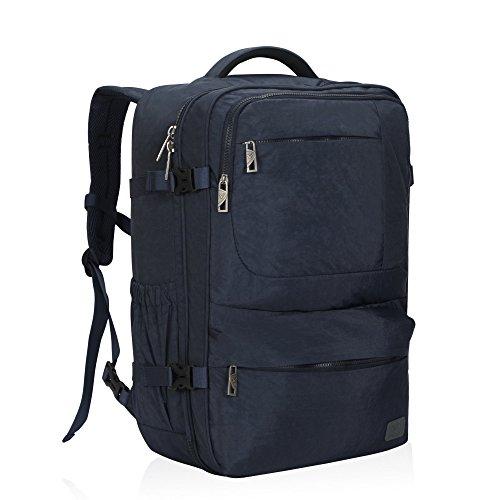 Hynes Eagle 44 l Handgepäck-Rucksack, Fluggenehmigt, Kompressions-Reisetasche, Handgepäcktasche, blau (Blau) - HE0828-9