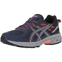 Asics - Gel-Venture 6 - Zapatillas deportivas para mujer, para correr, Azul (Azul índigo, negro, coral), 40 EU