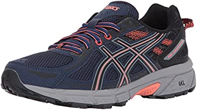 ASICS Women's Gel-Venture 6 Running-Shoes,Indigo Blue/Black/Coral,11 Medium US