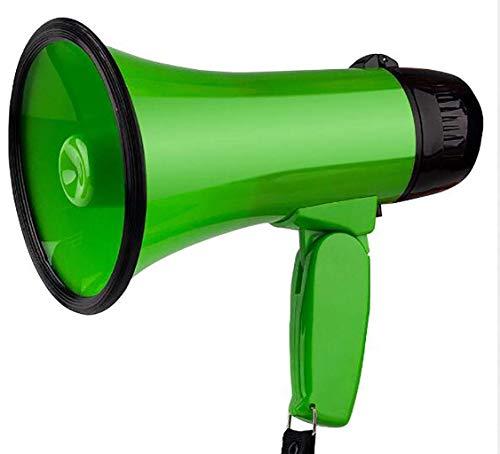 Megáfono portátil megáfono 25 vatios de potencia del altavoz del megáfono de...