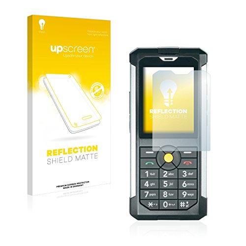 upscreen Entspiegelungs-Schutzfolie kompatibel mit Caterpillar Cat B100 – Anti-Reflex Bildschirmschutz-Folie Matt
