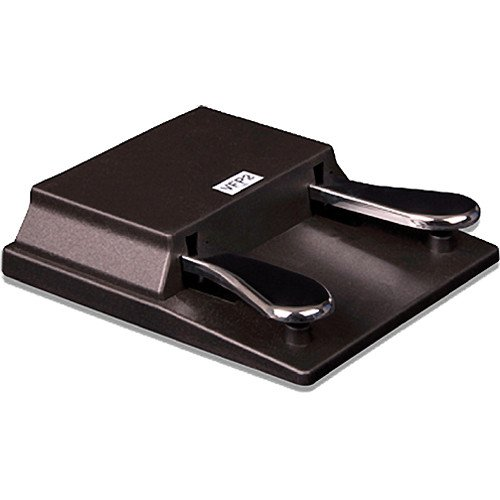 Studiologic VFP215B Double PianoStyle Sustain Pedal PC1/SP Series Closed Polarity 1/4Inch Stereo Plug VFP215B