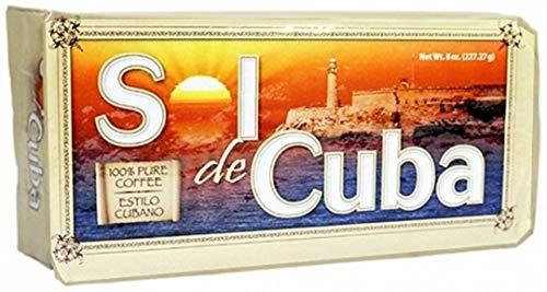 Sol de Cuba Ground Coffee Vacuum Pack 8 oz. Buy 5 get 1 FREE.