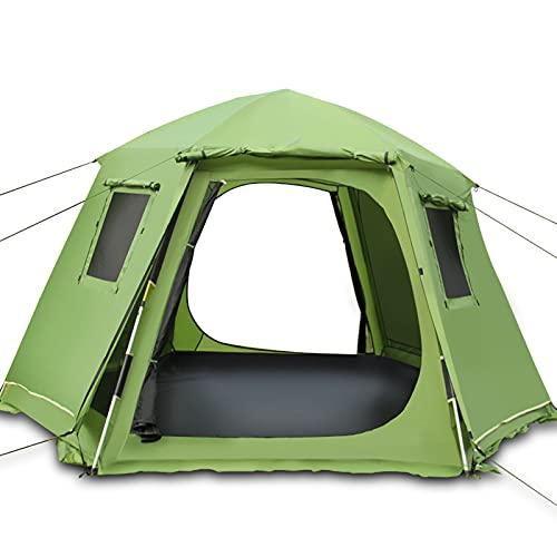 YAYA2021-SHOP Tienda campaña Inglés Pop Up Camping Tents para 3-5 Personas Cúpula Cúpula Impermeable Tallas de Sol para campamentos para Caminar al Aire Libre Carpa