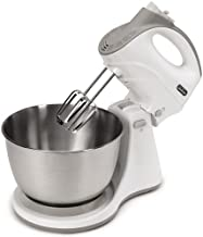 Sunbeam FPSBHS0301 Mixmaster Dual Function Hand and Stand Mixer, 250 W, 5 Speed, White