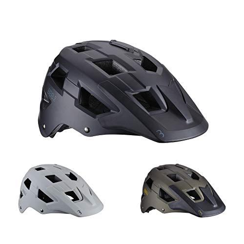 BBB Cycling Casco Unisex Nanga BHE-54 para Bicicleta de montaña con Montura...
