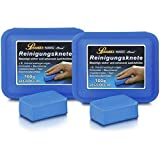 Petzoldt's 2 x 100 Gramm Profi-Reinigungsknete Magic-Clean, Blau