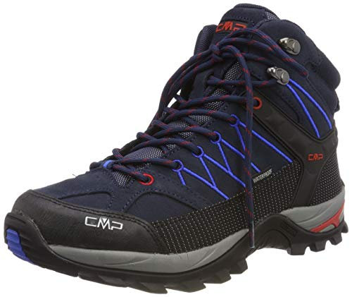 CMP – F.lli Campagnolo Herren Rigel Mid Shoe Wp Trekking- & Wanderstiefel, Blau (B.Blue-Royal 10nc), 43 EU